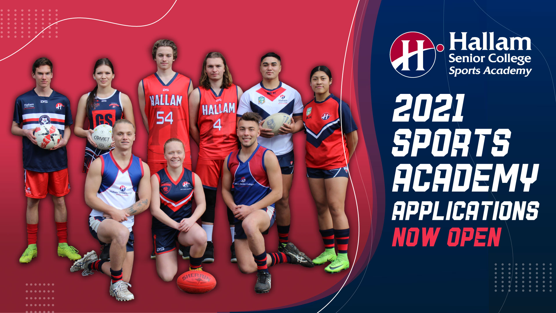 2021 Sports Academy Applications Now Open